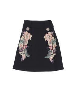 Zuhair Murad   Embroidered Mini Skirt
