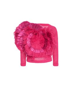 Delpozo | Fringed Cotton Sweater