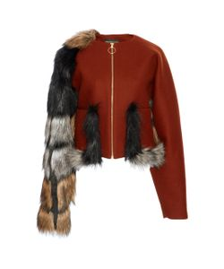 Christian Siriano | Faux Fur And Jacket