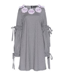 Paskal | Long Sleeve Checkered Dress