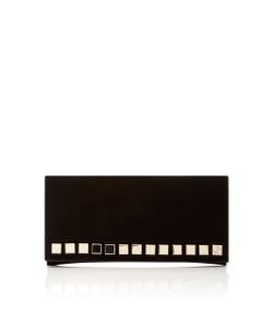 Tomasini | Hutton Embellished Suede Clutch