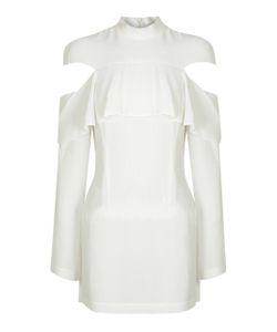 Strateas Carlucci | Signal Cutout Ruffle Dress