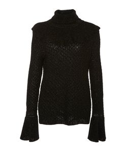 Co | Shimmer Ruffle Sweater