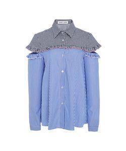Sandy Liang   Mercury Open Shoulder Shirt