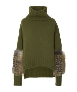 Sally Lapointe | Rib-Knit Wool And Cashmere Sweater