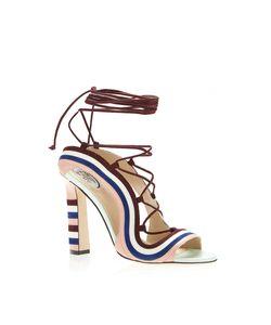 Paula Cademartori | Crazy Stripes Sandal