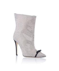 Marco de Vincenzo   Crystal High Heel Bootie