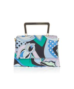 Emilio Pucci | Printed Leather Top Handle