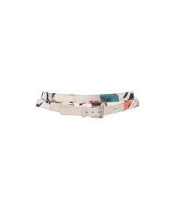 Jonathan Cohen   Orchid Collage Jacquard Wrap Belt
