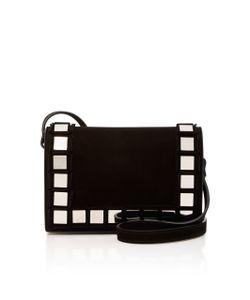 Tomasini   Anja Embellished Suede Shoulder Bag