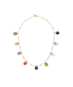 Noor Fares | Upratna Mala Necklace In With Various Coloured