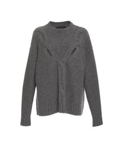 Sally Lapointe | Washed Silk Cashmere Cable Knit