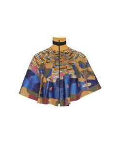 Rahul Mishra   Hand Embroidered Les Fauves Cape