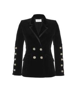 Zuhair Murad   Velvet Double Breasted Jacket