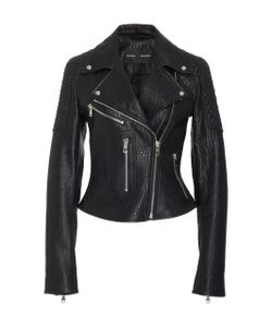 Proenza Schouler | Textured-Leather Biker Jacket