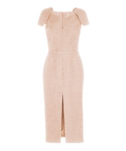 Martin Grant | Structured Cap Sleeve Midi Dress