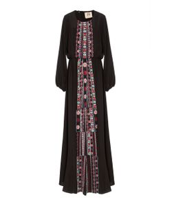 Figue | Onyx Embroidered Rebecca Dress