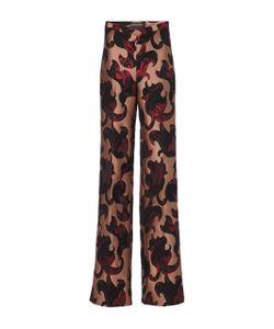 Christian Siriano | Brocade High Waisted Trousers