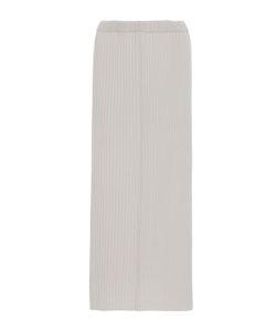 Allude   Ribbed Midi Skirt