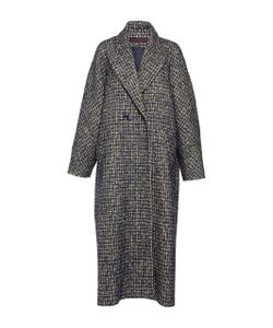 Martin Grant | Oversized Tweed Mens Coat