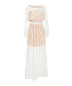 Alexis Mabille | Long Sleeve Lace Dress