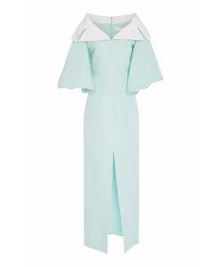 Christian Siriano | Silk Faille Shawl Collar Gown