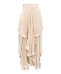 Kitx   Crème Liberty Draped Skirt
