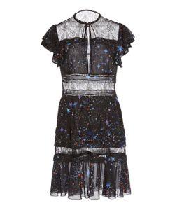 Zuhair Murad   Stars Ruffle Mini Dress