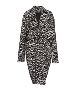 Sally Lapointe | Stretch Cotton Jacquard Coat