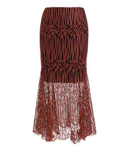 GINGER & SMART   Gloria Fluted Midi Skirt