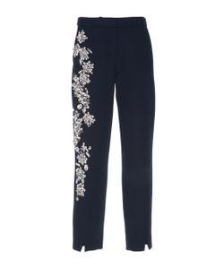 Dice Kayek | Crystal Embellished Cropped Pants