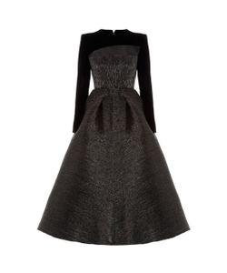 Alex Perry | Garret Long Sleeve Midi Dress