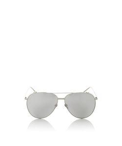 Linda Farrow | Frame Polarized Aviator Sunglasses