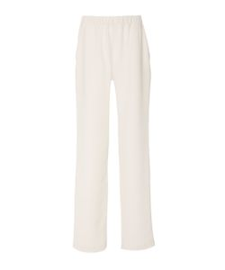 Sally Lapointe | Crepe De Chine Track Pant