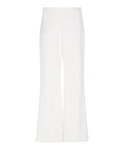 Christian Siriano | Pin Striped Crop Trouser
