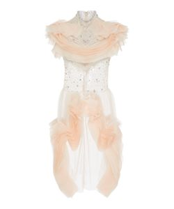 Christian Siriano | Embroidered Organza Cocktail Dress