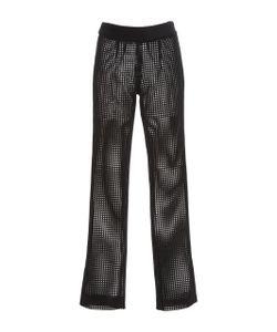 Sally Lapointe | Lasercut Velour Skinny Pant