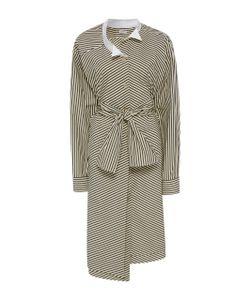 Loewe | D Cotton-Poplin Dress