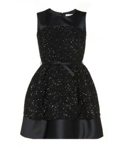 Dice Kayek | Sequin Embroidered A-Line Dress