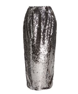 Sally Lapointe | Stretch Sequin Pencil Skirt