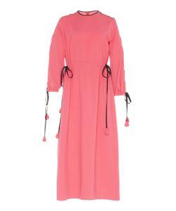 Huishan Zhang | Cut Out Sleeve Midi Dress