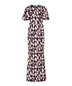 Jonathan Cohen | Abstract Orchid Jacquard Gown