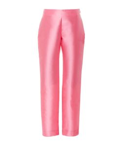 Alexis Mabille | High Waisted Straight Leg Trousers