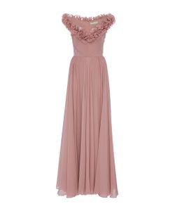 Elie Saab | Sleeveless Ruffled Gown