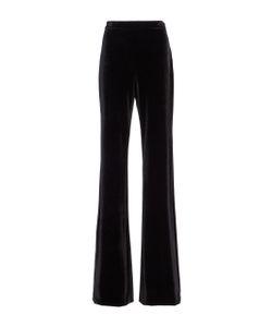 Christian Siriano | Velvet Slim Cut Trousers