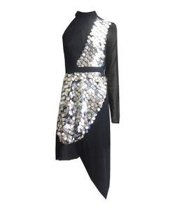 Kitx   Metal Disc Sequin Dress