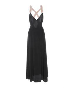 Natasha Zinko | Silk Crepe De Chine Rex Rabbit Embellished Dress