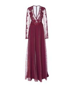 Zuhair Murad   Lace And Macramé Long Sleeve Gown