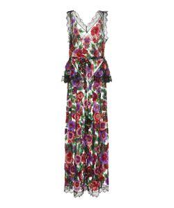 Rodarte | Embroidered Full Length Dress