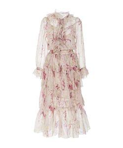 Zimmermann   Winsome Ruffled Midi Dress